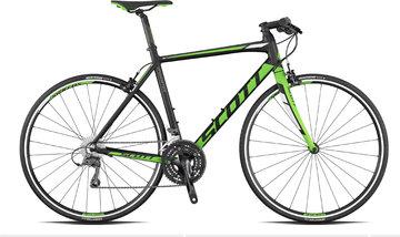 Fitness bikes met vaste vork