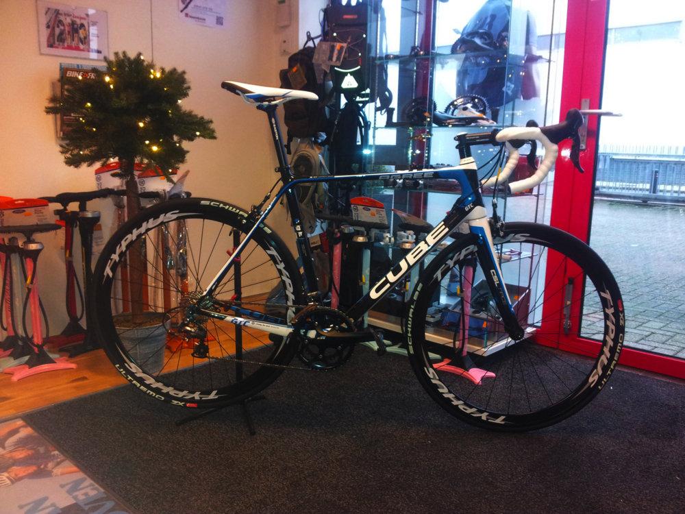 Voor klant 2012 Agree GTC opgebouwd met Typhus wielen!