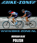 Polish Bike-Zone Morgan Blue | Fles met spuitkop