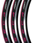 Racefiets buitenband Serfas Seca RS Vouwband Roze