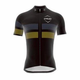 Cyklist Ledara Fietsshirt Black / Olive / Grey