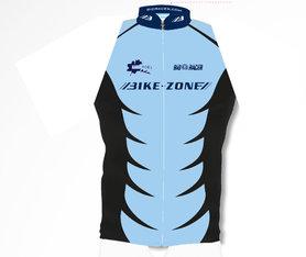 Mouwloos fietsshirt  Bike-Zone Blauw
