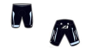 Bike-Zone Fietsbroek Zwart / Blauw
