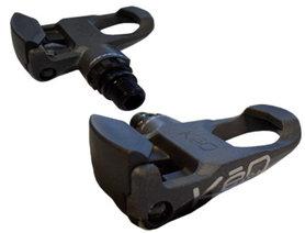 Look Keo Easy Race Pedalen donkergrijs inclusief schoenplaten