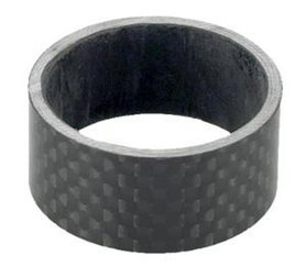 Spacers Carbon 1 1/8  10 mm.