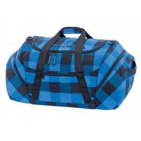 Dakine Rider's Duffle blauw/zwart geblokt