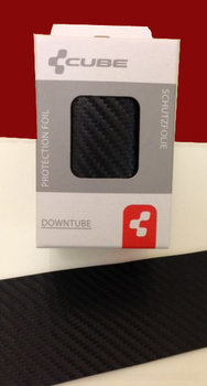 Berschermfolie, Protectie sticker voor Frame Carbon Look
