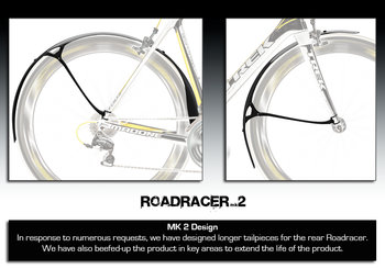 Crud Roadracer Voor- en Achterspatbord Set  Spatbordenset Crud