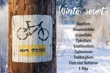 WINTERBEURT Triathlonfiets  2019 - 2020