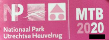 MTB VERGUNNING Utrechtse heuvelrug *2020*  ATB Vignet