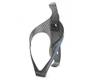Bidonhouder Serfas Cirque SL Carbon 20 Gram | Kleur Carbon met Blauw