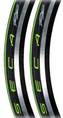 Racefiets buitenband Serfas Seca RS Vouwband Groen