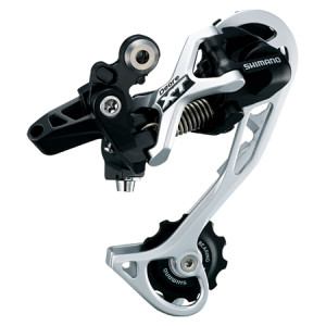 Achterderailleur Shimano XT 10 speed, Shadow
