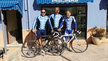 Bike-Zone Fietshirt Korte Mouwen Bike-Zone Blauw
