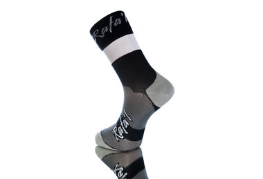 Rafa'l Celeste Fietssok 43-46 zwart/wit