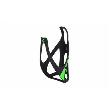 Cube Bidonhouder zwart/groen mat