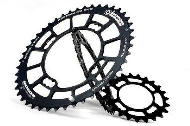 Rotor Q Rings kettingblad MTB 23-tands Zwart