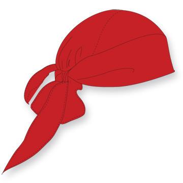 Bandana voor onder je helm | Rood