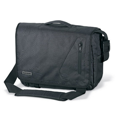 Dakine Messenger Bag Large Zwart met Laptop sleeve  Laptoptas