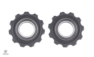 Derailleurwieltjes BBB BDP-11  10T  Ceramische Lagers zwart | Shimano 7/8 - Campa 8/9/10 - SRAM diverse