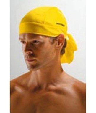 Bandana voor onder je helm | Geel
