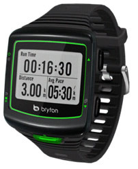 Bryton Cardio 40H GPS Sporthorloge inclusief hartslagmeter