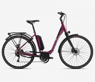 Orbea Optima Comfort 10 Bosch Performance CX 500 56 cm. Roze