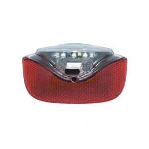 Axa Omega Pro Achterlicht  met Led Batterij voor bagagedrager met bewegingssensor en standlicht