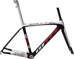 Ditec 912 Carbon Frameset met doorgetrokken Zadelpen  56 cm.