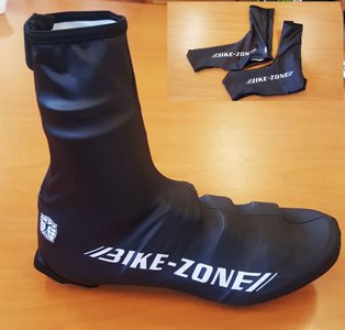 Overschoenen Lycra Zwart Bike-Zone