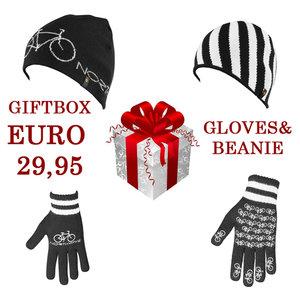 Northwave Gift Pack bestaande uit handschoenen en beanie!