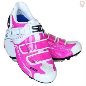 Sidi Buvel Dames MTB Schoen wit roze