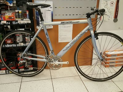 Occasion Van Tuyl fitness bike, 58cm frame met vaste vork