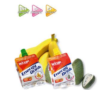Wcup Energy Drink Banaan | Vloeibare voeding op basis van snel opneembare koolhydraten